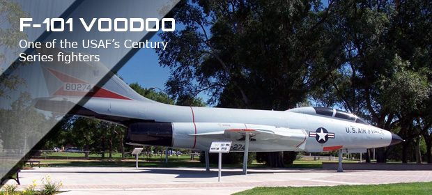 Peterson Air and Space F101-voodoo-4 Slide image