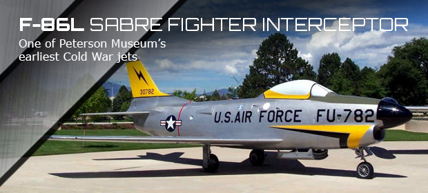 Peterson Air Space F86-Sabre Slide image