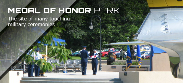 Peterson Air and Space Medal Honor Park